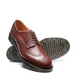 Chestnut 5 Eye Gibson Brogue Shoe