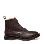Walnut Grain 6 Eye Derby Boot