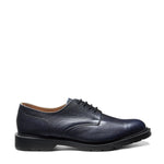 Navy Grain 4 Eye Gibson Shoe