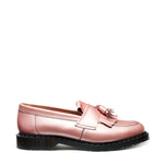 Iridescent Pink Hi-Shine Tassel Loafer