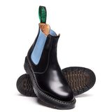 Baby Blue & Black Dealer Boot