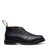 Black Greasy Chukka Boot