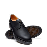 Black Greasy Gibson Shoe