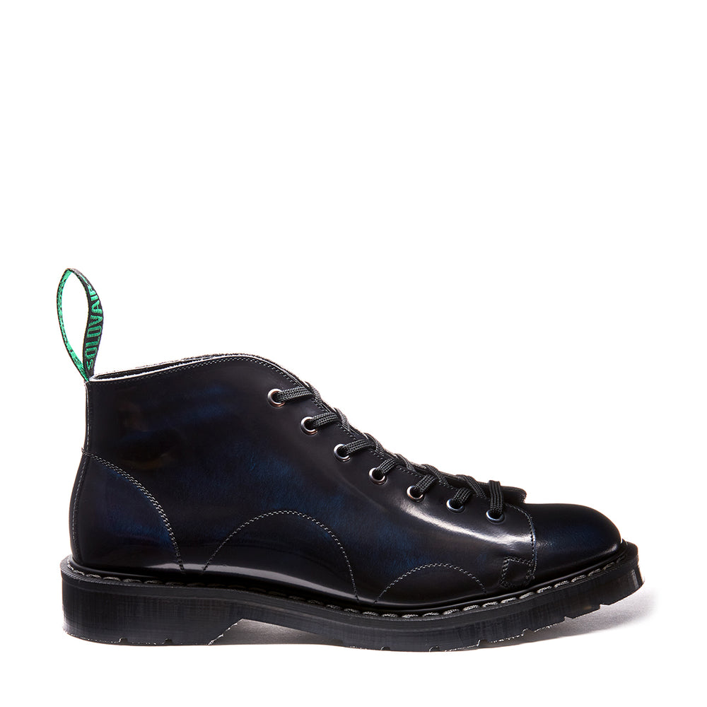 Navy Blue Rub-Off Monkey Boot