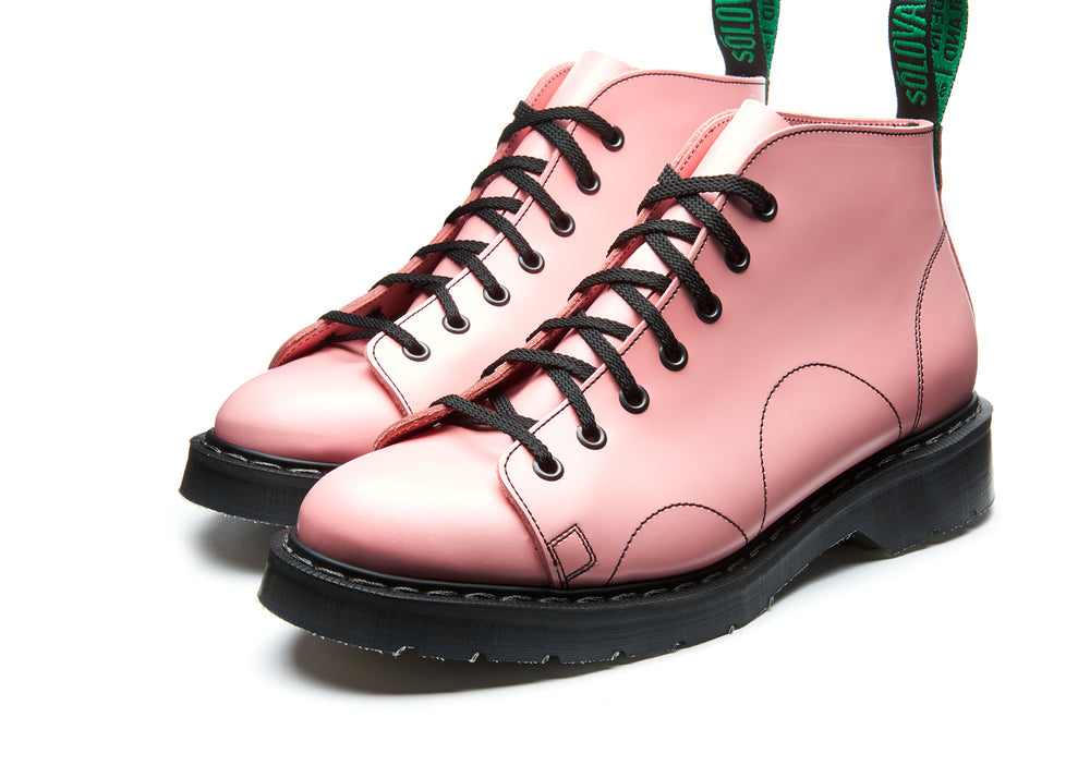 Blush Pink Hi-Shine Monkey Boot