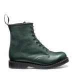 Green Scotch Grain 8 Eye Derby Boot