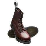 Mid Brown Full Grain 8 Eye Derby Boot
