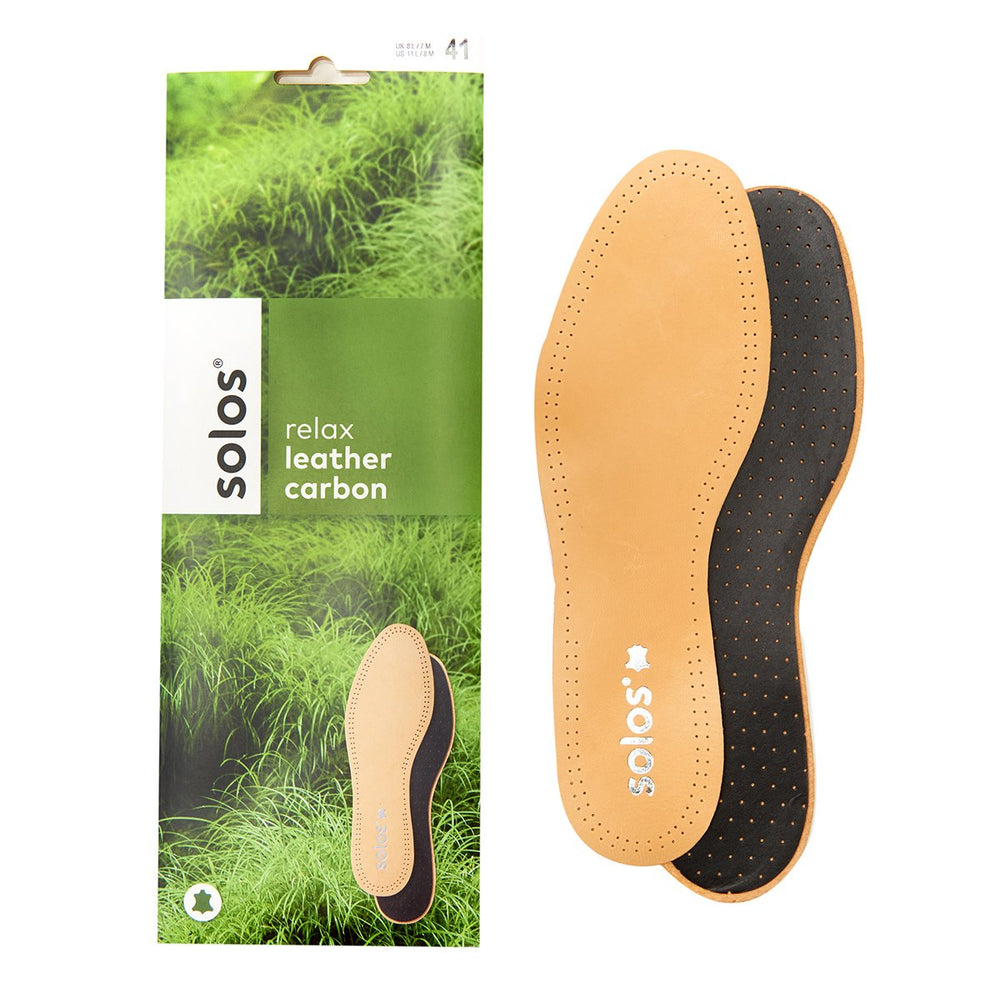 Solos Leather Carbon Insoles