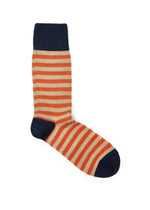 Striped Cotton-blend Socks