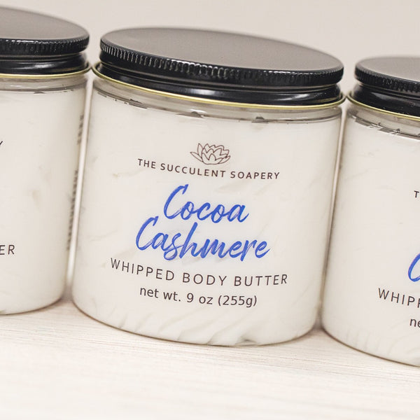Cocoa Cashmere Whipped Body Butter