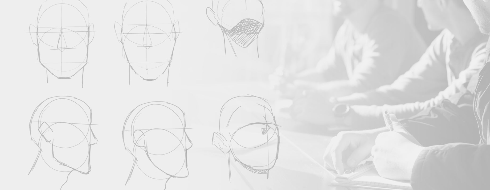 jaw drawings