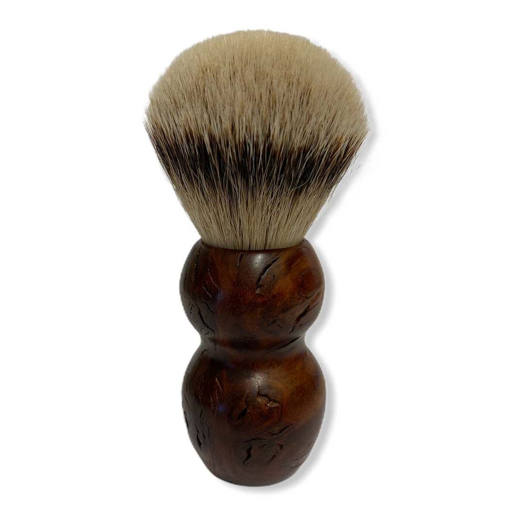 Lynd & Hardwick Luxury Jarrah Burl Shaving Brush