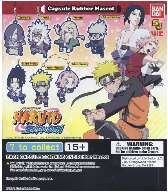 NARUTO SHIPPUDEN CAPSULE RUBBER MASCOT - Tokyo Japanese Lifestyle