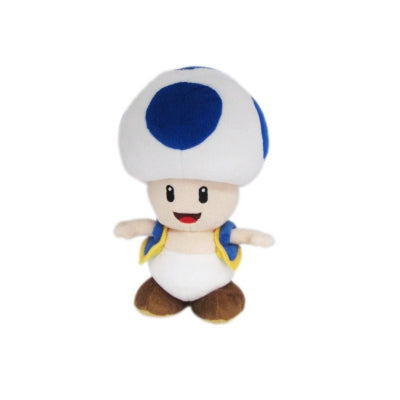 SUPER MARIO : BLUE TOAD PLUSH 8