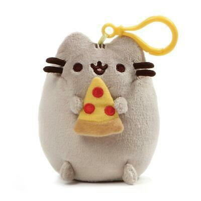 PUSHEEN PIZZA BACKPACK CLIP 5