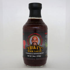 FREE FREE FREE FREE FREE FREE w/ a purchase of $39.95 or more.  Only one FREE item per order, per customer.  CHAKA'S ALL NATURAL BBQ, Dipping & Grilling Sauce (1) 18oz Bottle. - MUST THROW IN YOUR SHOPPING CART TO RECEIVE.