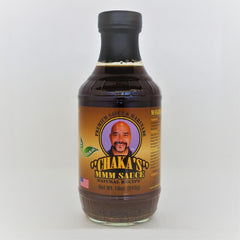 1 PACK - CHAKA'S MMM SAUCE ORIGINAL ALL NATURAL MARINADE  18oz GLASS BOTTLE