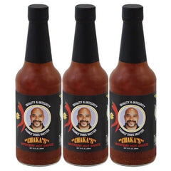 CHAKA'S HOT Sauce. All Natural (3) 10oz