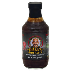 CHAKA'S BBQ & DIPPING All Natural Sauce (1) 18oz. Only ships with an item $13.95 or more in your shopping cart. Can not ship alone.