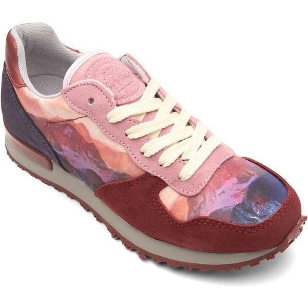 Mokoshoes Mountain Printing Sneakers