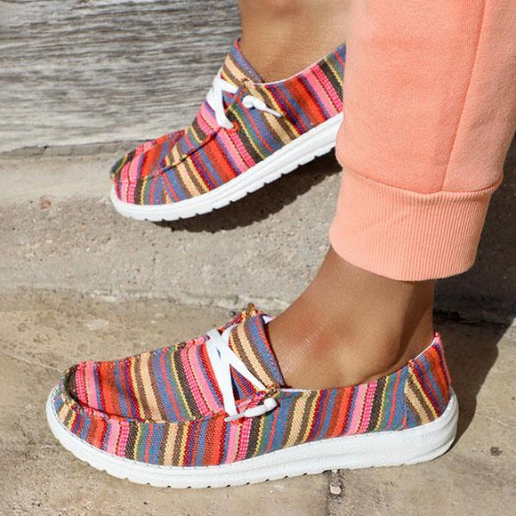 Mokoshoes Cute Leisure Fashion Cloth Flats