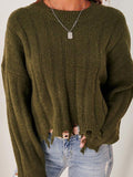 Mokoshoes Traditions Distressed Sweater