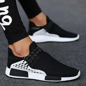 Mokoshoes Fashion Design Breathable Air Mesh Slip On Sock Sneakers