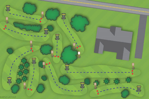 """""""Ace Place"""" course design by Innova"""