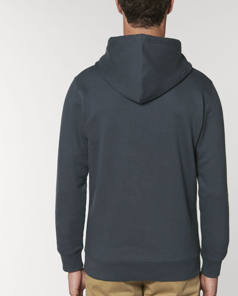 Yankoo Departure - India Ink Grey Men Hoodie
