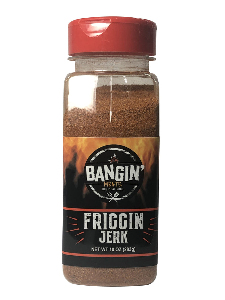 BanginMeats FRIGGIN JERK Chicken and Fish Seasoning Rub 8oz - Bangin Meats