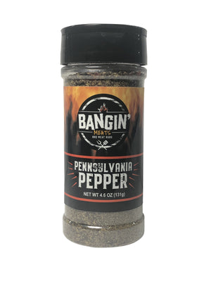BanginMeats PENNSYLVANIA PEPPER Seasoning 4.6oz - Bangin Meats