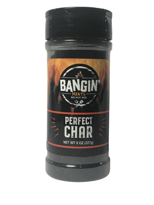 BanginMeats PERFECT CHAR Steak Chicken Charcoal Seasoning Rub - Bangin Meats