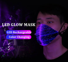 Load image into Gallery viewer, LED Glow Mask