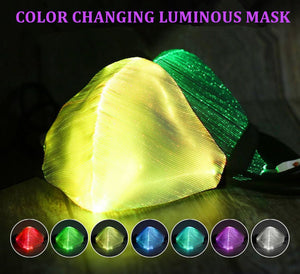 color changing luminous mask