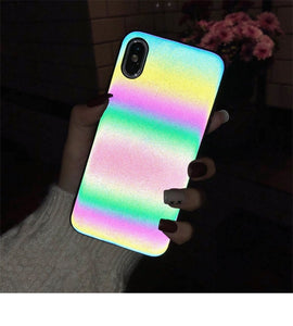 Holographic Reflective iPhone Case