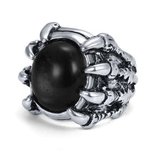 Load image into Gallery viewer, Men's Punk and Biker Alloy CZ Rings