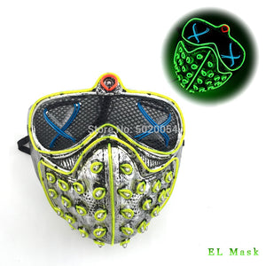 Led Rave Masks WatchDogs Style