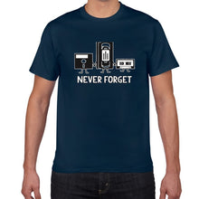 Load image into Gallery viewer, Never Forget Sarcastic Music Novelty T-Shirt