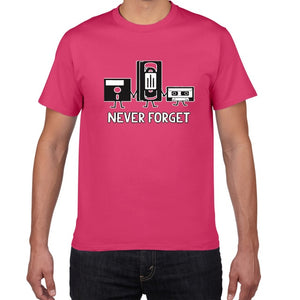 Never Forget Sarcastic Music Novelty T-Shirt