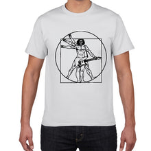 Load image into Gallery viewer, Drums Da Vinci Funny T-Shirt