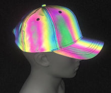 Load image into Gallery viewer, Laser Reflective Holographic Baseball Hat