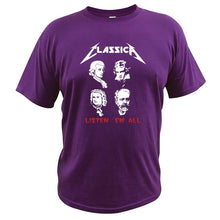 Load image into Gallery viewer, Classica - Metallica Parody Funny Rock T-Shirt
