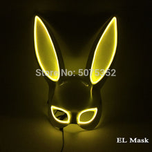 Load image into Gallery viewer, Sexy Bunny LED Rabbit Mask