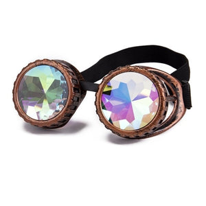 Diffraction Goggles With Rainbow Prisms
