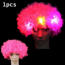 Load image into Gallery viewer, LED Light Blinking Hair Wig