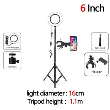 Load image into Gallery viewer, Dimmable LED Selfie Ring Fill Light
