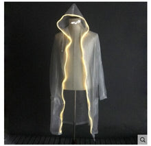 Load image into Gallery viewer, LED Luminous Raincoat Fluorescent