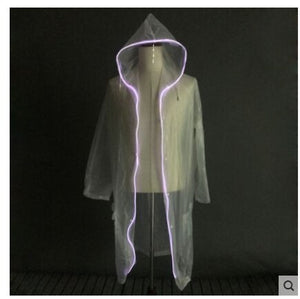 LED Luminous Raincoat Fluorescent