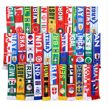 Load image into Gallery viewer, World Football/Soccer Team Flag Scarfs
