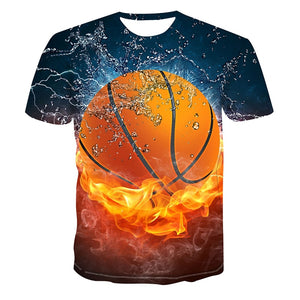 3D Basketball T-Shirt
